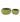 Set of 2 Ribbed Ceramic Bowls – Green